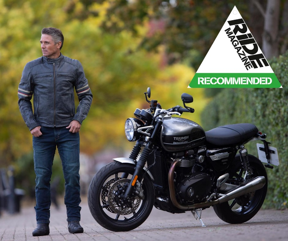Weise Detroit leather jacket is RiDE Recommended